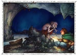 Gollum-Bilbo